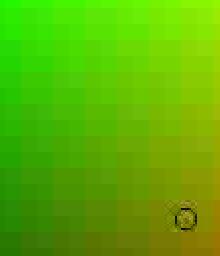 Värikartta: otos vihreistä sävyistä JPG iso pakkaustaso