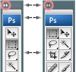 Photoshop CS2: työkalut: kapea näkymä tai leveä näkymä