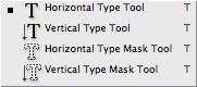 Photoshop CS2: työkalut: tekstityökalut / Text tools