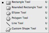 Photoshop CS2: työkalut: vektorityökalut / Vector tools