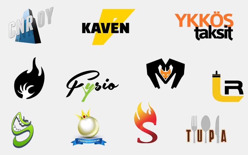 Esimerkkejä logoista